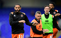 Blackpool's Liam Feeney during the pre-match warm-up<br /> <br /> Photographer Chris Vaughan/CameraSport<br /> <br /> The EFL Sky Bet League One - Ipswich Town v Blackpool - Saturday 23rd November 2019 - Portman Road - Ipswich<br /> <br /> World Copyright © 2019 CameraSport. All rights reserved. 43 Linden Ave. Countesthorpe. Leicester. England. LE8 5PG - Tel: +44 (0) 116 277 4147 - admin@camerasport.com - www.camerasport.com