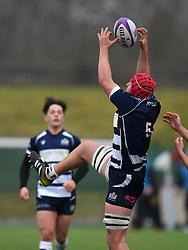 James Dun (c) (Millfield) of Bristol Rugby Academy U18 - Mandatory by-line: Paul Knight/JMP - 11/02/2017 - RUGBY - SGS Wise Campus - Bristol, England - Bristol Academy v Gloucester Academy - Premiership Rugby Academy U18 League