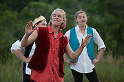"Performance of ""Much Ado About Nothing"" by the Chelsea Funnery in Chelsea, Vt., on July 22, 2016. Profits from print sales to benefit the Funnery Scholarship Fund. (Photo by Geoff Hansen)"