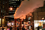 New York, New York. United States. February 13th 2006. Corner 6th Avenue and 43rd Street..
