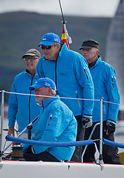 Largs Regatta Week 2017 <br /> Day 1<br /> <br /> GBR9470R, Banshee, Charlie Frize, CCC, Corby 33.<br /> <br /> Picture Marc Turner