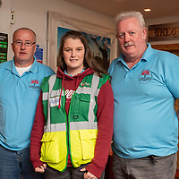 REPRO FREE<br /> Paul Harrington, Rose O'Riordan and Thomas O'Riordan from Carrigaline CFR pictured at the official launch of Kinsale Community First Responders.<br /> Picture. John Allen