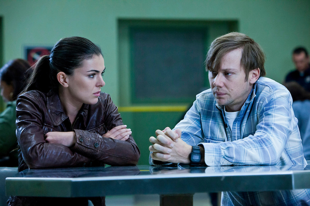 In this episode of Breakout Kings, Erica and Lloyd realize that Marcum was looking to get beaten, but they can't figure out why. Photo: Skip Bolen / A&E Television Networks