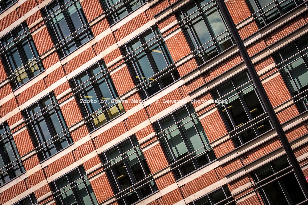 Windows on a Office Block - Aug 2013.