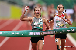 2021 High School Nationals<br /> NSAF Outdoor Track and Field Championship<br /> Winner Middle School Girls Mile 5:02.56<br /> Cedar Park, TX