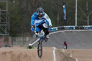 #322 (PIZARRO Ernesto) ARG at the 2014 UCI BMX Supercross World Cup in Santiago Del Estero, Argentina.