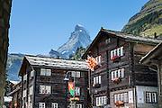 Zermatt, Switzerland, the Alps, Europe.