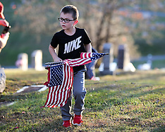 11/09/20 Bridgeport Cemetery Flag Placing for Veterans