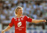 Fotball Tippeligaen 04.06.08 Rosenborg - ( RBK ) - Brann,<br /> Eirik Huseklepp Brann,<br /> Foto: Carl-Erik Eriksson, Digitalsport