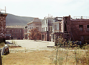 CS00996-01. Movie sets at Culver City. Gone With The Wind was filmed here. December 1941. California