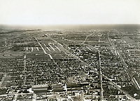 1930 Aerial photo of Pathe Studios in Culver City