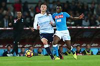 Lucas Biglia Lazio, Amadou Diawara Napoli,<br /> Napoli 05-11-2016  Stadio San Paolo <br /> Campionato Serie A Napoli - Lazio<br /> Foto Cesare Purini / Insidefoto