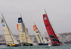 © Sander van der Borch.Alicante, 11 October 2008. Start of the Volvo Ocean Race. Start.
