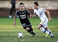 Fotball , 25. januar 2013 , Turnering<br /> La Manga<br /> Rosenborg - CSKA Moskva<br />  , CSKA<br /> Jaime Alas , RBK<br /> Petr Ten , CSKA