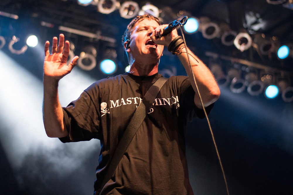 Third Eye Blind performing at Summerfest in Milwaukee, WI on June 30, 2018.