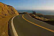Highway One along the coast near Elk, Mendocino County, California