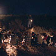 Migrants are detained in the Arizona desert on just south of Tombstone by a group of citizens who have taken it upon themselves to police the border. Led by Chris Simcox, the group stops migrants believed to have crossed illegally into the US and then calls the Border Patrol. (Photo by Todd Bigelow/Aurora) Please contact Todd Bigelow directly with your licensing requests. PLEASE CONTACT TODD BIGELOW DIRECTLY WITH YOUR LICENSING REQUEST. THANK YOU!