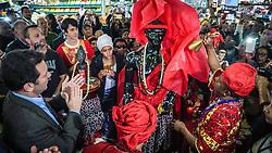 Porto Alegre, RS 03.10.2018: O prefeito Nelson Marchezan Júnior participou nesta quarta-feira (3), das festividades pelo aniversário de 149 anos do Mercado Público. Inaugurado em 1869 para abrigar o comércio de abastecimento da cidade, o prédio foi tombado pelo Patrimônio Histórico e Cultural do município em 1979. A história do Mercado Público se confunde com a de Porto Alegre. Mais que um ponto turístico, o local concentra consumo, crença, gastronomia, cultura e tradição no coração do Centro Histórico da cidade. Foto: Jefferson Bernardes/PMPA