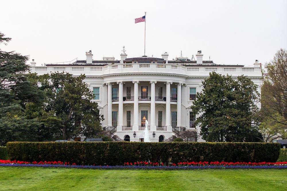 April 3, 2017: The White House.