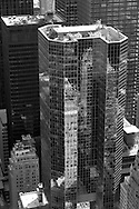 New York. elevated view midtown buildings   New York, Manhattan - United states from top of the rock