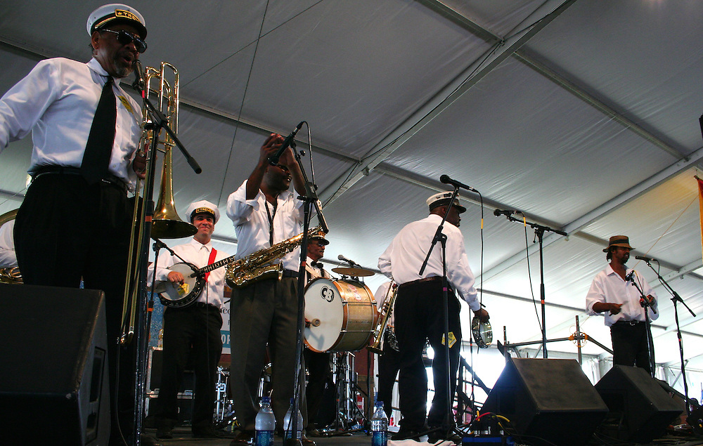 Treme Brass Band, New Orleans Jazz and Heritage Festival