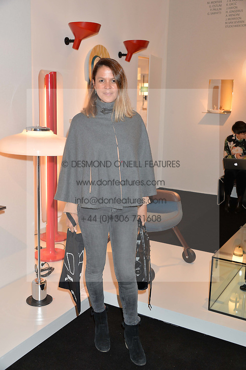 LISA MOORISH at the PAD London 2015 VIP evening held in the PAD Pavilion, Berkeley Square, London on 12th October 2015.