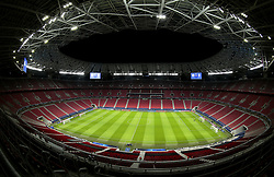 File photo dated 16-03-2021 of a general view of Puskas Arena, Budapest. Picture date: Tuesday March 16, 2021. Issue date: Tuesday June 1, 2021.