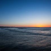 Today's   sunrise at Narragansett Town Beach,  .  April  6, 2013.