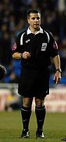 Photo: Daniel Hambury.<br />Reading v Cardiff City. Coca Cola Championship.<br />02/01/2006.<br />Referee Ray Olivier.