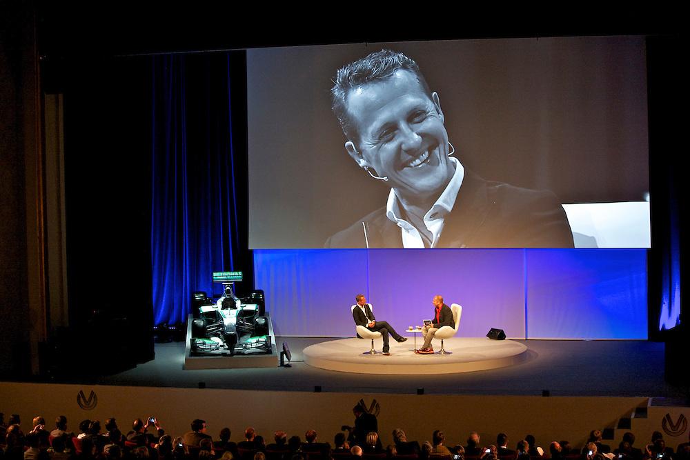 Kunde: DVAG, Agentur: Akzio, Ein Abend mit Michael Schumacher in Berlin