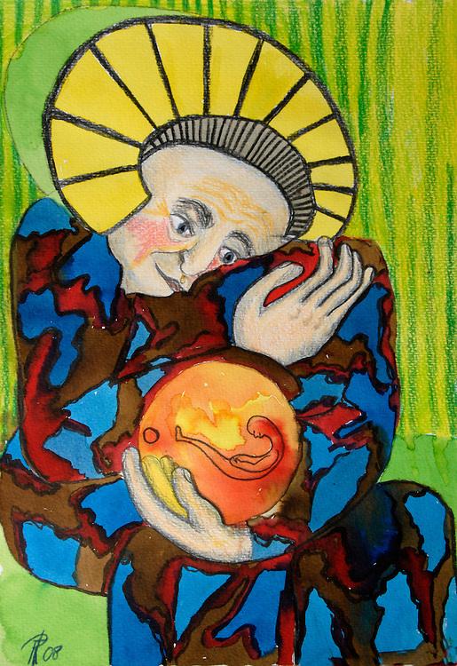 illustratie, 2009.serie over wijze lessen..(c)renee teunis