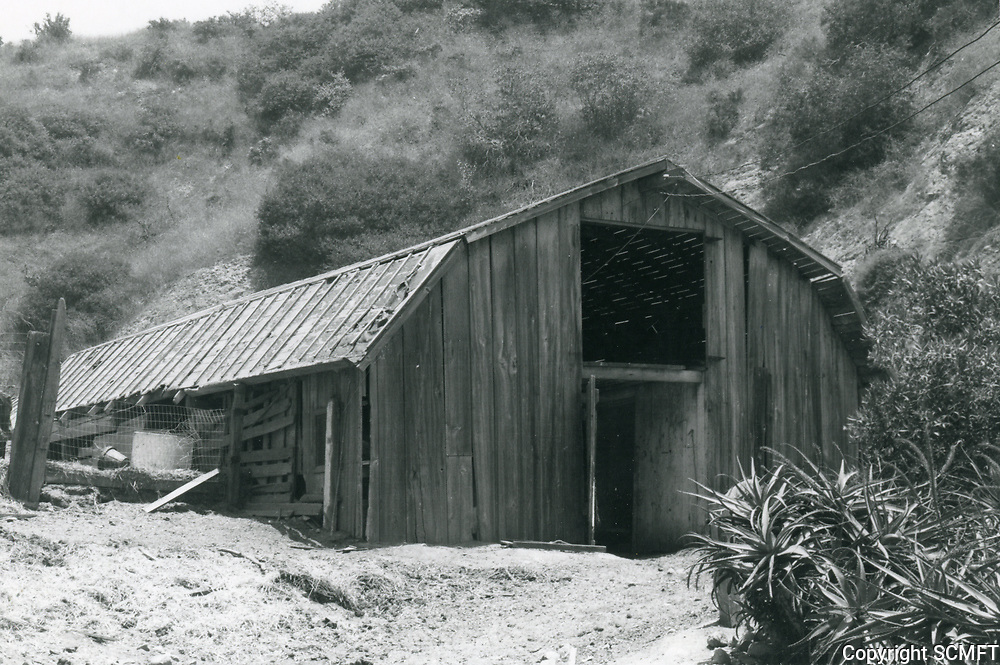 1973 Hollywoodland Riding Stables at the north end of Beachwood Dr.