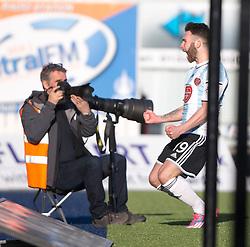 Falkirk 0 v 3 Hearts, Scottish Championship game played 21/3/2015 at The Falkirk Stadium.