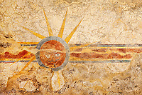 """Sun of Mission Concepcion - photographed in the Spanish Mission Concepcion in San Antonio, Texas."