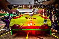 November 16, 2018 - Shanghai, Japon - 97 ASTON MARTIN RACING (GBR) ASTON MARTIN VANTAGE AMR GTE PRO ALEXANDER LYNN (GBR) MAXIME MARTIN  (Credit Image: © Panoramic via ZUMA Press)