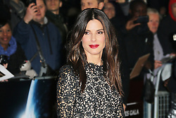 © Licensed to London News Pictures. 10/10/2013, UK. Sandra Bullock, The BFI London Film Festival: Gravity, Odeon Leicester Square, London UK. Photo credit : Richard Goldschmidt/Piqtured/LNP