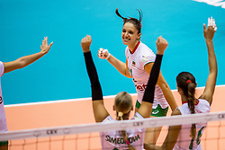22-08-2017 NED: World Qualifications Slovenia - Bulgaria, Rotterdam<br /> Bulgaria win 3-1 against Slovenia / Hristina Ruseva #11 of Bulgaria<br /> Photo by Ronald Hoogendoorn / Sportida
