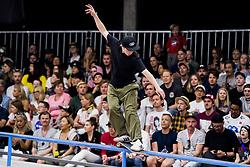 May 20, 2018 - Oslo, NORWAY - 180520 Hermann Stene of Norway competes in the men's street skateboard finals during X Games Norway on May 20, 2018 in Oslo.Photo: Fredrik Varfjell / BILDBYRÃ…N / kod FV / 150099 (Credit Image: © Fredrik Varfjell/Bildbyran via ZUMA Press)