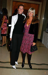 """Left to right, MISS CHLOE DELEVINGNE and her mother MRS CHARLES DELEVINGNE at a party to celebrate the publication of Bruce Oldfield's autobiography """"Rootless"""" held in aid of Crimestoppers at Claridge's, Brook Street, London W1 on 22nd September 2004.<br /><br />NON EXCLUSIVE - WORLD RIGHTS"""