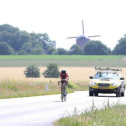 21-06-2017: Wielrennen: NK Tijdrijden: Montferland  <br />s-Heerenberg (NED) wielrennen  <br />Sophie van Rooijen (Driel) pakt zilver