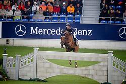 Offel Katharina (UKR) - Sanctos van het Gravenhof<br /> World Equestrian Festival, CHIO Aachen 2011<br /> © Dirk Caremans