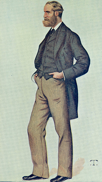 Anti-Rent': Charles Stewart Parnell (1846-1891) Irish politician. Supporter of Home Rule and President of the Irish Land League. After cartoon in 'Vanity Fair', London, 1880.