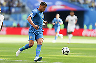 Thiago Silva of Brazil during the 2018 FIFA World Cup Russia, Group E football match between Brazil and Costa Rica on June 22, 2018 at Saint Petersburg Stadium in Saint Petersburg, Russia - Photo Thiago Bernardes / FramePhoto / ProSportsImages / DPPI