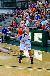 21 June 2014:  Kristen Parsons (32), 2014 Girls Illinois Basketball Coaches Association All Start game at the Shirk Center in Bloomington IL