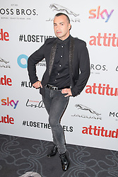 EDITORIAL USE ONLY<br /> Louie Spence attends the 2016 Attitude Award the 2016 Attitude Awards in association with Virgin Holidays, at 8 Northumberland Avenue, London.