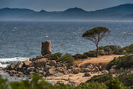 Costa Rei, Sardinia, Italy, June 2015. The Wild landscapes of Capo Ferrato. Costa Rei is located on the south coast of Sardinia about 50km from Cagliari. The coastline is renowned for its crystal clear water, golden sands and long beaches. Photo by Frits Meyst / MeystPhoto.com