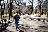 NEW YORK  2020V10<br /> <br /> Oscar på promenad i Cantral Park.<br /> <br /> Foto: Per Danielsson/Projekt.P