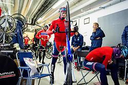 September 21, 2017 - Bergen, NORWAY - 170921 Kristoffer Skjerping of Norway prepares for a training session on September 21, 2017 in Bergen..Photo: Vegard Wivestad GrÂ¿tt / BILDBYRN / kod VG / 170019 (Credit Image: © Vegard Wivestad Gr¯Tt/Bildbyran via ZUMA Wire)