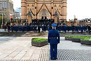 Funeral of Constable Aaron Vidal