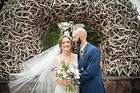 Wedding — Sarah Blackburn and David Benedict, National Museum of Wildlife Art